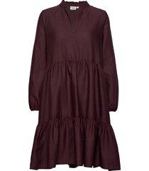cedasz ls dress kort klänning lila saint tropez