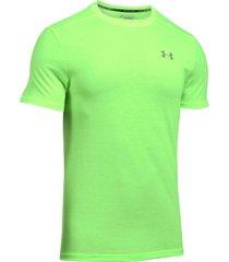 camiseta para hombre under armour-verde