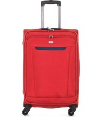 maleta de viaje mediana textil ruedas 360 94123