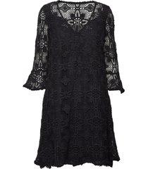 peace please dress korte jurk zwart odd molly