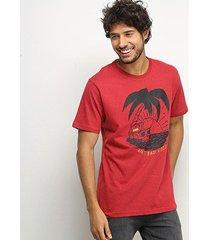 camiseta hd death island masculina