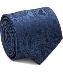 men's cufflinks, inc. mickey paisley silk tie