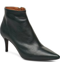 booties 3350 shoes boots ankle boots ankle boots with heel svart billi bi