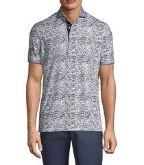 greyson men's packs & parks polo shirt - ash - size xl