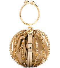 rosantica mini alice cage shoulder bag - gold