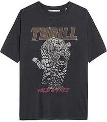catwalk junkie 2102010207 155 t-shirt thrill dark grey