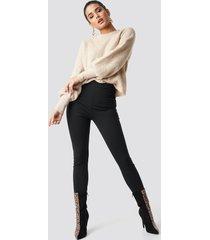 na-kd trend high waist leggings - black