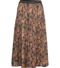 cokko skirt knälång kjol brun lollys laundry