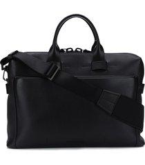 troubadour generation pathfinder slim briefcase - black