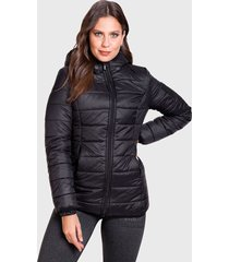 parka everlast final negro - calce regular