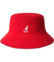 kangol men's bermuda terry boucle bucket hat