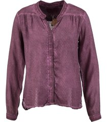 garcia blouse aubergine