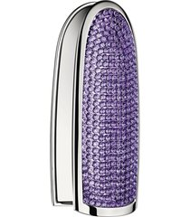 guerlain rouge g stunning queen customizable lipstick case - amethyst emotion
