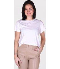 agolde t-shirt mariam tee a07048 beige