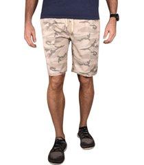 men's camo print hybrid windjammer shorts