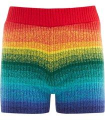morph cashmere shorts