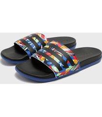 sandalia adilette comfort multicolor  adidas performance