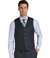 jos. a. bank men's traveler collection slim fit suit separates vest clearance, navy, large