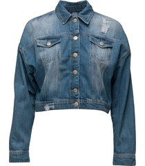 jila jacket jeansjack denimjack blauw twist & tango