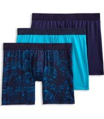 jockey men's flex 365 micro stretch boxer brief 3 pack