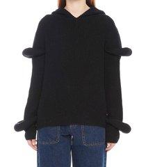 j.w. anderson rib knit sweater