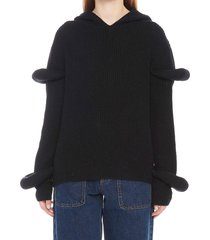 j.w. anderson rib knit sweater