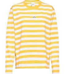 hanger striped longsleeve t-shirts long-sleeved gul hanger by holzweiler