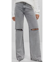 90s gescheurde klokkende jeans