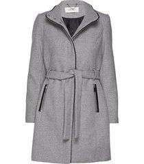 onlmichigan wool coat otw wollen jas lange jas grijs only