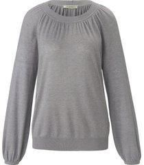 trui met ronde hals en lange mouwen van uta raasch grijs