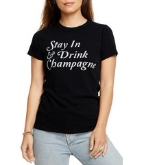 women's chaser stay in graphic tee