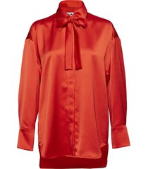 camicia shirt blouse lange mouwen rood msgm