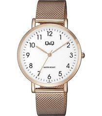 reloj análogo cobre q&q