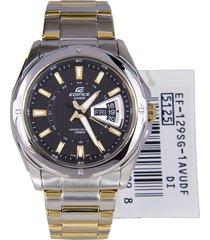 reloj casio edifice ef-129sg-1a