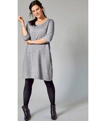jurk janet & joyce grijs