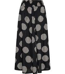sadie knälång kjol svart masai