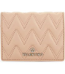 chevron quilted french wallet