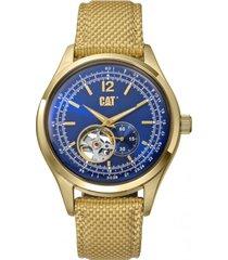 reloj 1904 automatic dorado cat