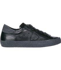 scarpe sneakers donna in pelle paris glitter