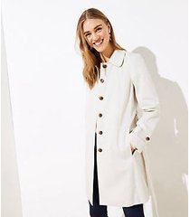 loft petite modern trench coat