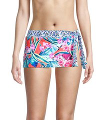 orchid grove skirted bikini bottom