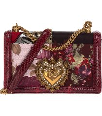borsa donna a spalla shopping in pelle devotion