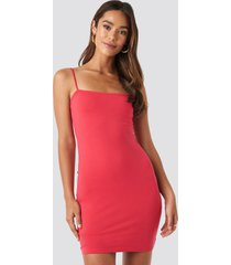 na-kd party bandeau cami mini dress - red