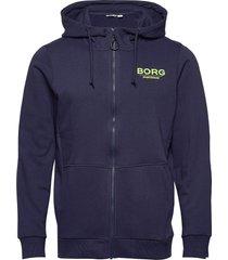 hoddie jacket stephen stephen hoodie blå björn borg