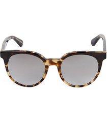 51mm abianne round sunglasses