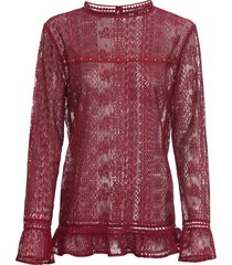tunica in pizzo (rosso) - bpc selection