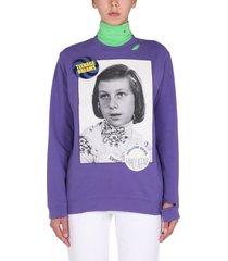 raf simons teenage dreams sweatshirt