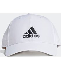 boné adidas baseball logo branco - único