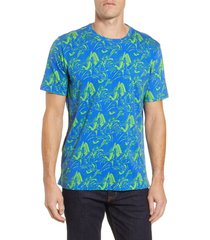 men's robert graham aerobatics pocket t-shirt, size xx-large - blue