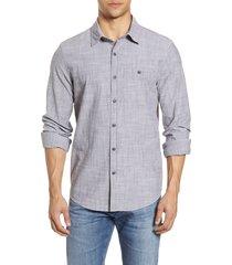 men's vineyard vines longshore slim fit chambray button-up shirt